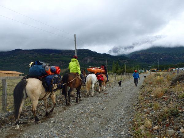 Senderos Patagonia Logistics